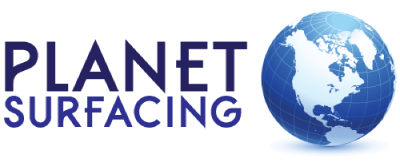 planet surfacing logo