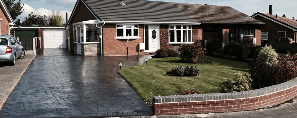Pattern Imprinted Concrete Driveways Manchester