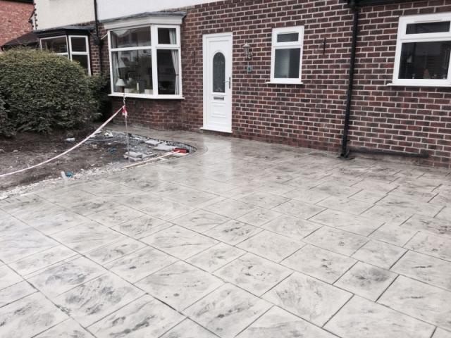 New driveway Didsbury 1