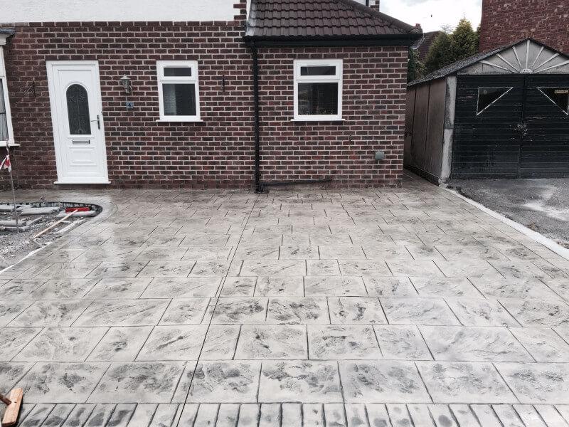 New driveway Didsbury