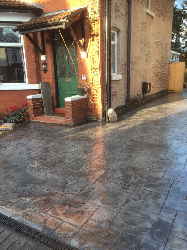 Shared driveway re-surface Cheadle Hulme 2