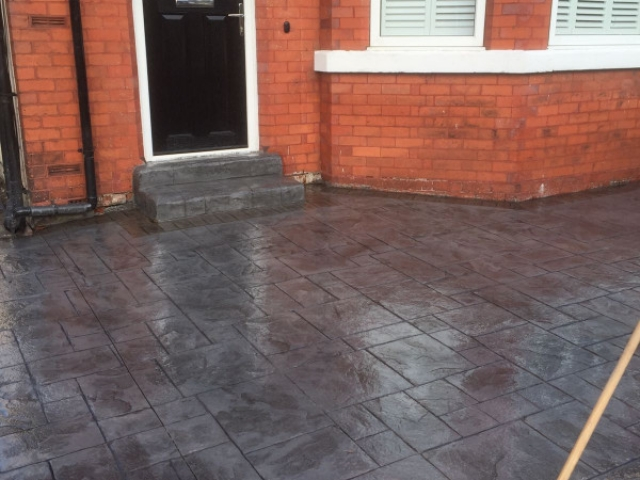 Shared driveway re-surface Cheadle Hulme 3
