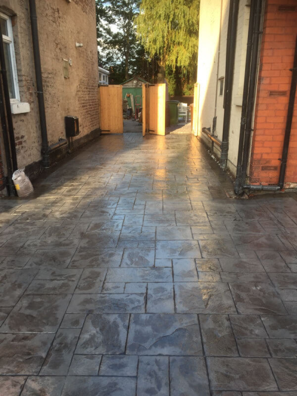 Shared driveway re-surface Cheadle Hulme 4