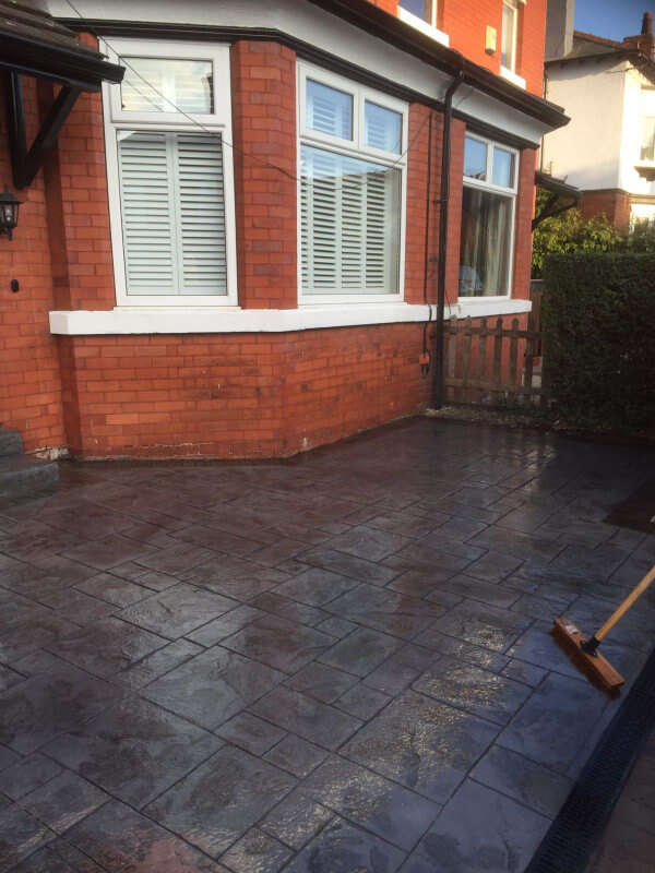 Shared driveway re-surface Cheadle Hulme 5