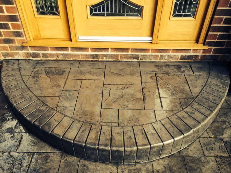 bespoke concrete steps