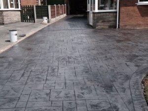 New concrete driveway Oldham