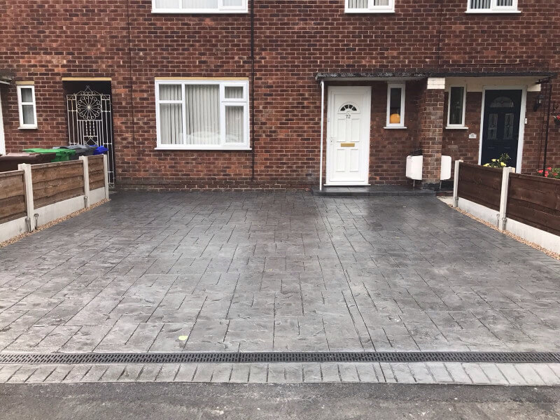 New driveway in Northern Moor