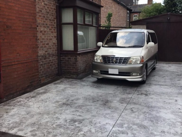 New driveway in Sale, Manchester
