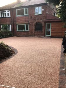New Resin Bound Driveway - Sale Manchester