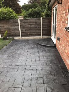 New Pattern Imprinted Concrete Driveway in Sale