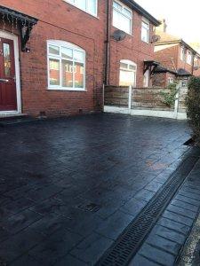New driveway in Urmston