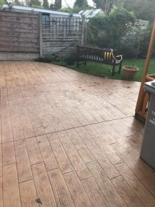 Beautiful New Patio in Altrincham