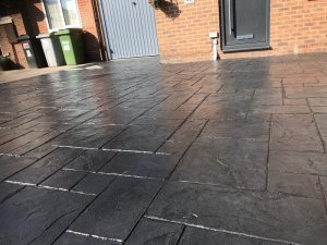New driveway in Wilmslow