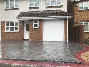 New driveway in Altrincham