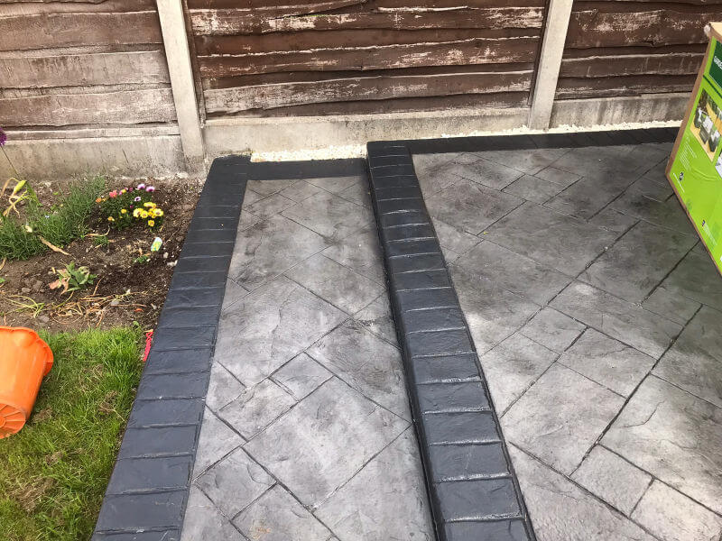 New Driveway in Manchester and Patio Installed