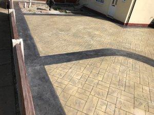 New bespoke driveway in Wythenshawe