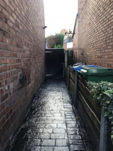 New side path in Stretford