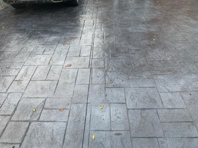 New driveway in Manchester
