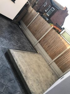 New patio and driveway Eccles, Salford