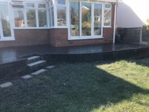New Patio in Gatley by Planet Surfacing