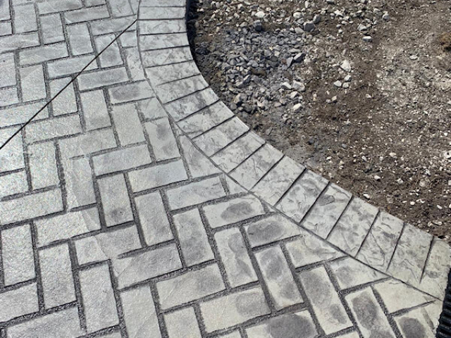 New driveway in Flixton Manchester