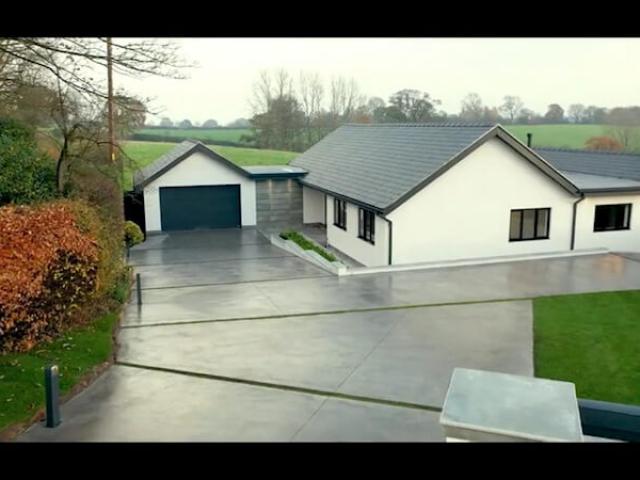 Integral Colour Concrete Driveway