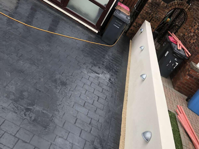 New driveway in Salford