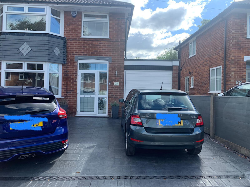 New driveway Heald Green in Stockport